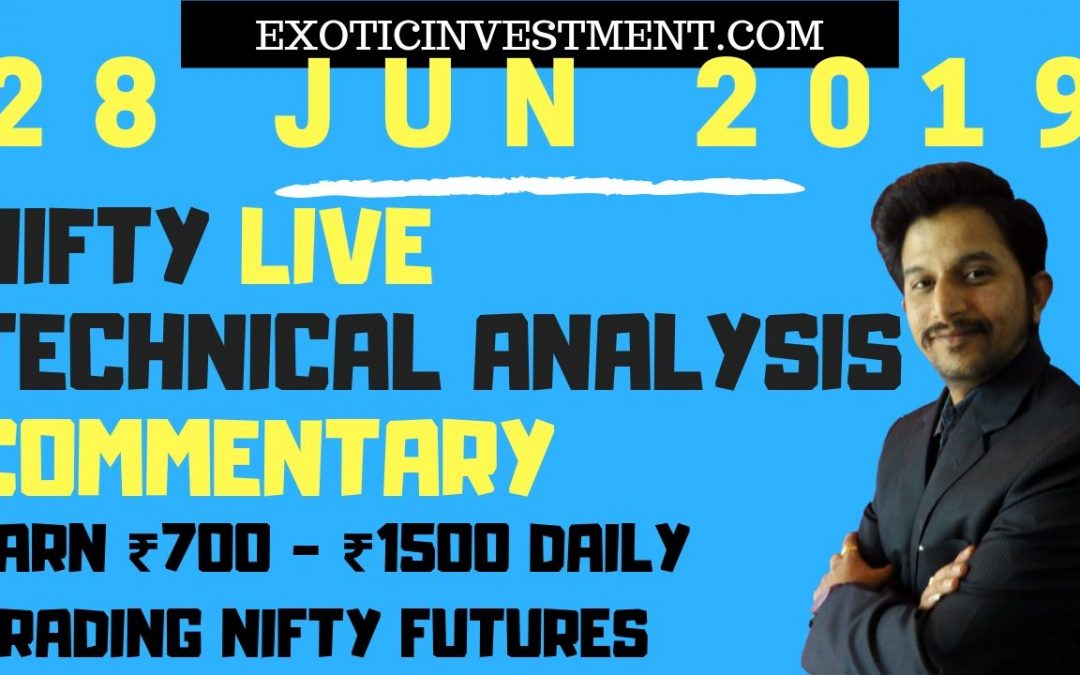 Nse Live Market 28th June 2018:  Nifty Live Index Commentary Starting Before the Pre Open Market Opening